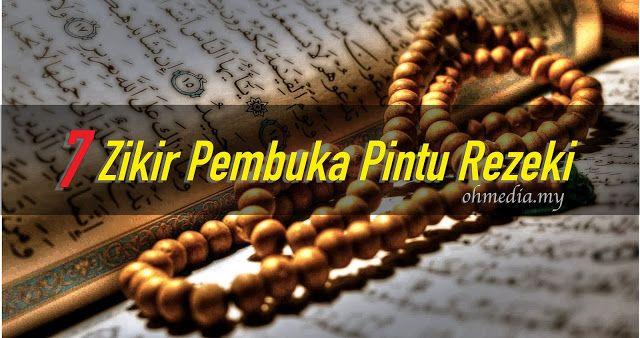 Tips Islam : 7 Zikir Pembuka Pintu Rezeki