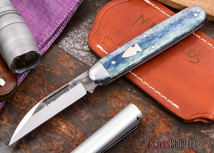 Northwoods Knives: Forest Jack - Wharncliffe - Camel Bone - #44