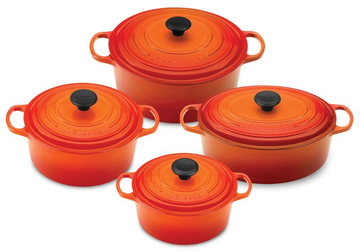 Shop for Le Creuset Signature Cast Iron 8-pc.  Smaller Cookware Sets at cutleryandmore.com. We are your source for Le Creuset Signature Cast Iron including this Le Creuset Signature Cast Iron Dutch Oven Cookware Set. We carry only high quality cookware kitchen knives small appliances kitchen tools and coffee makers.