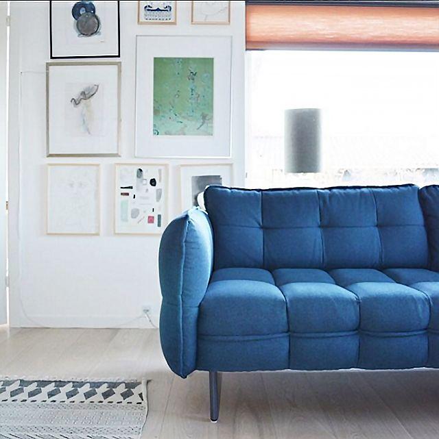 MELVIN sofa @mettekirstinebrinch   #sofacompany #sofacompanypolska #sofa #meble #wnetrza #dekoracje #fotel #Szezlongi #melvin #stylskandynawski