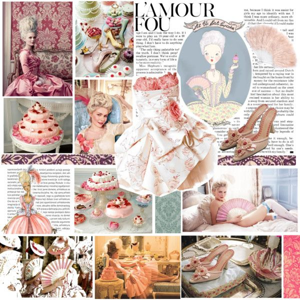 Marie Antoinette Style by karhys on Polyvore featuring Again, Oris, Ladurée and Monsoon