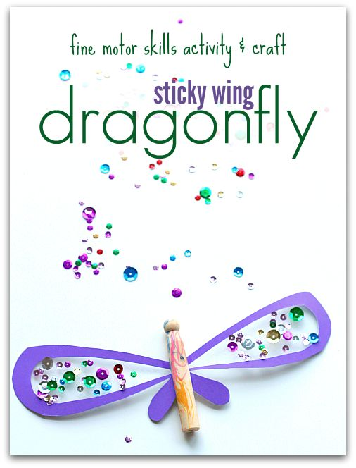 dragonfly craft for preschool
