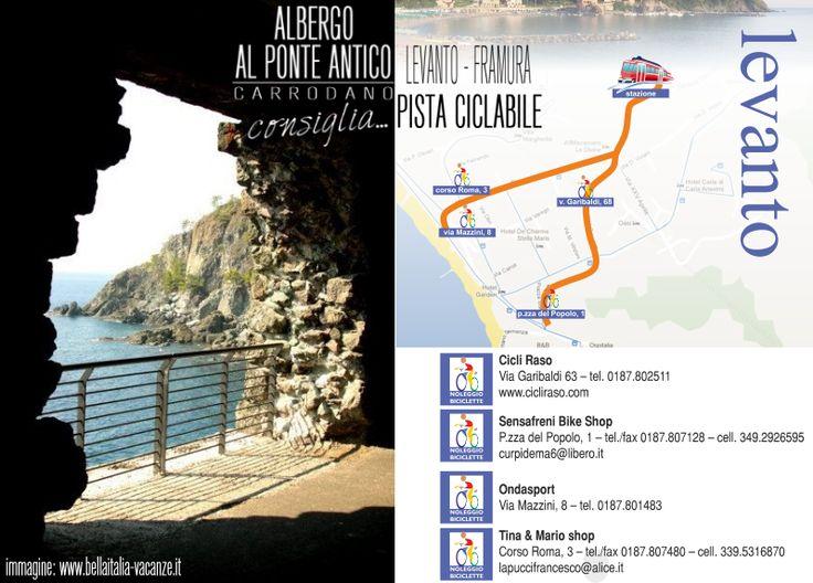 Albergo Al Ponte Antico Consiglia - Levanto Framura - Pista Ciclabile.png