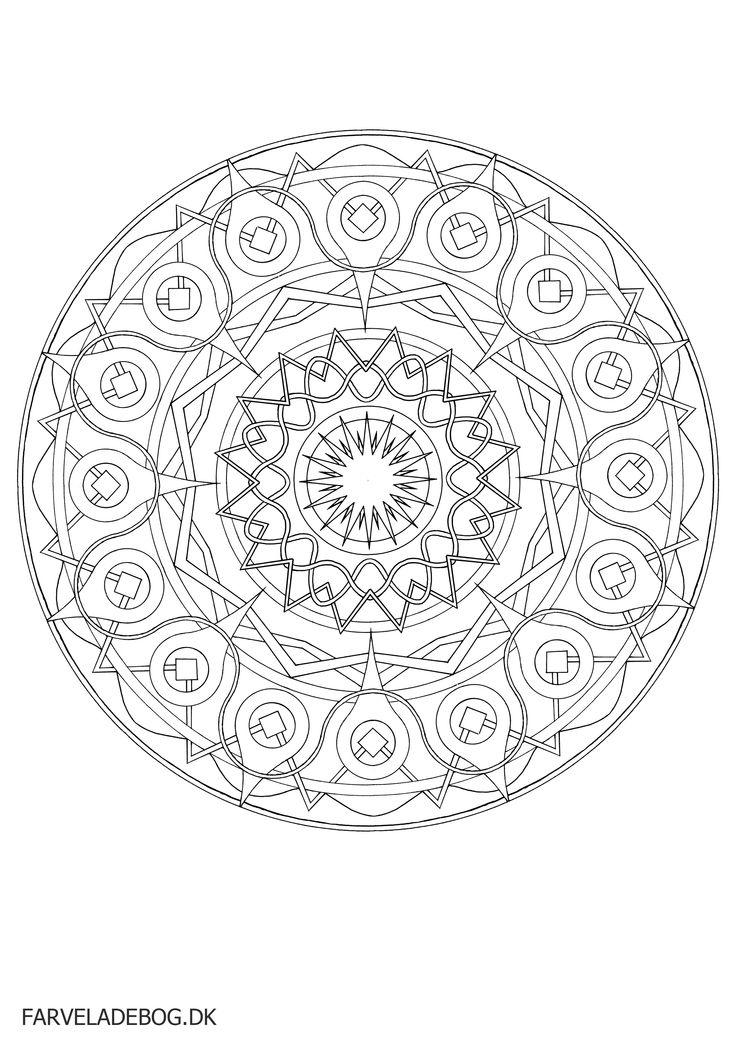 google images mandala coloring pages - photo#15