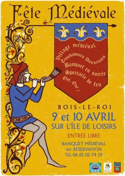 affiche Fête Médiévale 2ème édition                              …                                                                                                                                                                                 Plus