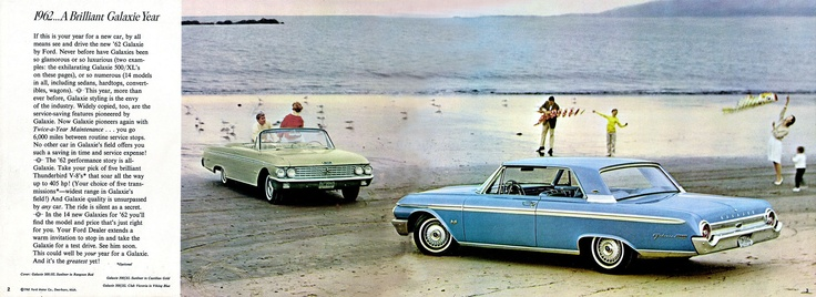 Ford F >> 2.jpg 2,328×850 pixels 1962 Galaxies | Ford ..car brochures | Pinterest | Ford, Ford lincoln ...