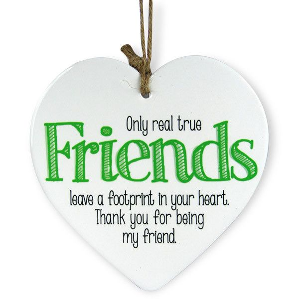 Heart Shaped Quotation For Friends. Only real true Friends leave a footprint in your heart. Thank You being my friend. | Rs. 324 | Shop Now | https://hallmarkcards.co.in/collections/shop-all/products/send-quotes-for-friends