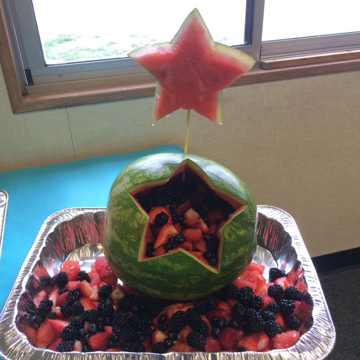 Watermelon Star fruit salad