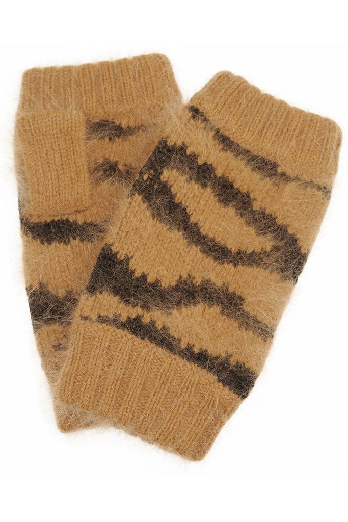 Grrrrrrrrrreat.    Mulberry Tiger-Striped Gloves: Mulberry's tiger-striped angora-blend fingerless gloves ($140) will add a hint of playfulness to any Winter ensemble. They'd make a perfect gift for any young — or young-at-heart — friend.   — Kimberly Timlick, entertainment director