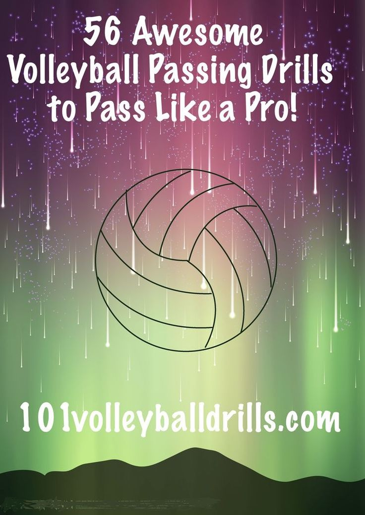 56 Awesome Volleyball Passing Drills To Pass Like A Pro - From 101 Volleyball Drills | TSS Photography