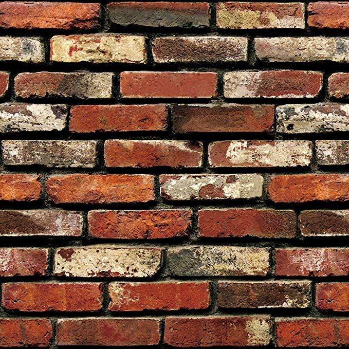 Brick Peel And Stick Wallpaper Brick Wallpaper Easily Removable Wallpaper 3d Wallpaper Brick Loo Brick Wallpaper Brick Wall Wallpaper Wall Decor Stickers