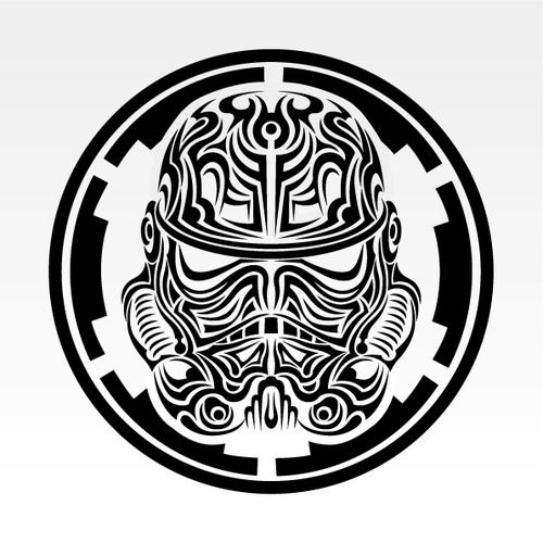 tribal tattoos stormtrooper tattoo and tattoos and body art on pinterest. Black Bedroom Furniture Sets. Home Design Ideas