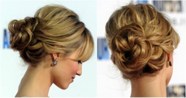 20 Ways to Wear a Messy Updo: Messy Prom Updos: Dianna Agron