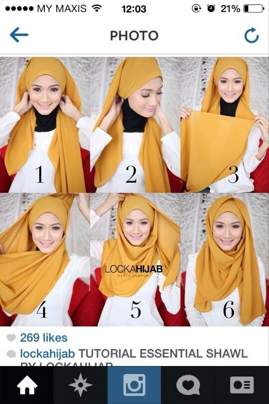 Lockahijab :: hijab tutorial.. paling senang..