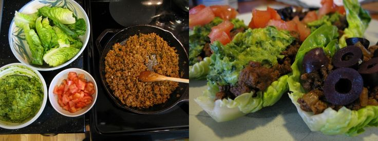 taco salad/taco lettuce wraps with homemade seasoning | Salads ...