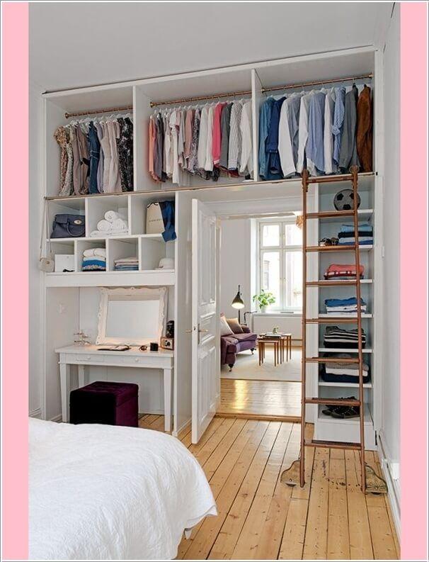 best 25 ideas for small bedrooms ideas on pinterest - Bedroom Closet Ideas
