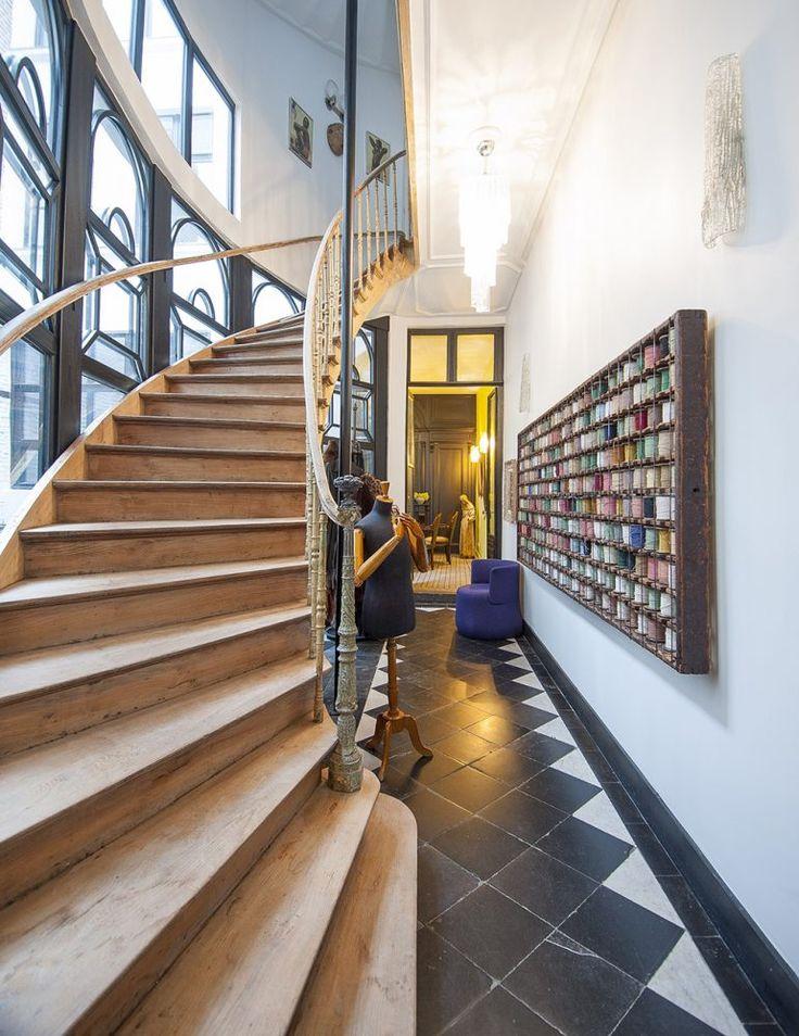 1000 id es sur le th me escaliers en carrelage sur pinterest contremarches - Hauteur sous plafond maison ...