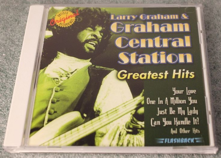 LARRY GRAHAM & GRAHAM CENTRAL STATION GREATEST HITS CD-SUPER RARE-FREE POSTAGE #Funk