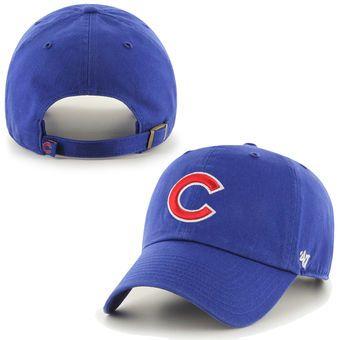 Men's Chicago Cubs '47 Brand Royal Clean Up Adjustable Hat