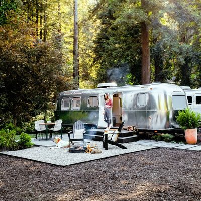 AutoCamp Russian River, Guerneville, CA (via Sunset)