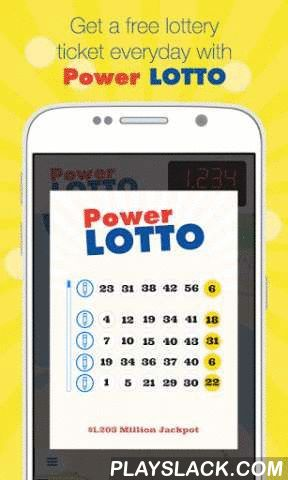 Power Lotto  Android App - playslack.com , Download NOW! New players get a free lottery ticket everyday for life. Get lucky and strike it rich in all your favorite lottery games in the #1 FREE to play lottery app in the world!Power Lotto is a new lottery built for your phone! The gas station stinks, the cashier hates you, and the old lady in front of you is not counting her quarters any quicker. Its time to skip the trip to the gas station and play with us. Join our first million members and…