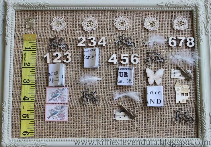 Kifli és levendula: Vintage stílusú órarend