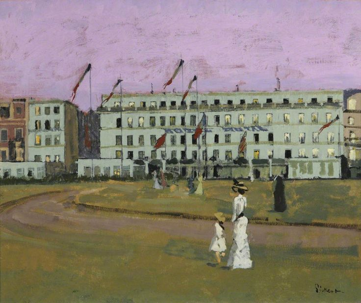 Walter Sickert - Hotel Royal, Dieppe, France