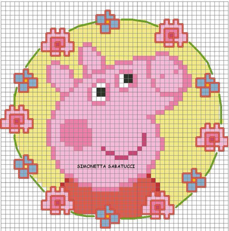 Peppa pig - flowers 1-2
