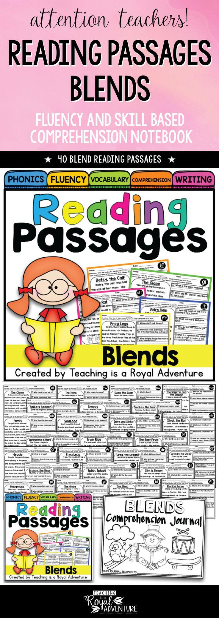 Workbooks k12 comprehension worksheets : Best 25+ Reading comprehension passages ideas on Pinterest ...