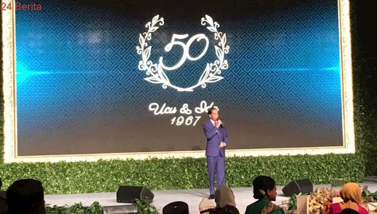 Jokowi: Pak Jusuf Kalla Nikah, Saya Masih TK Kecil...