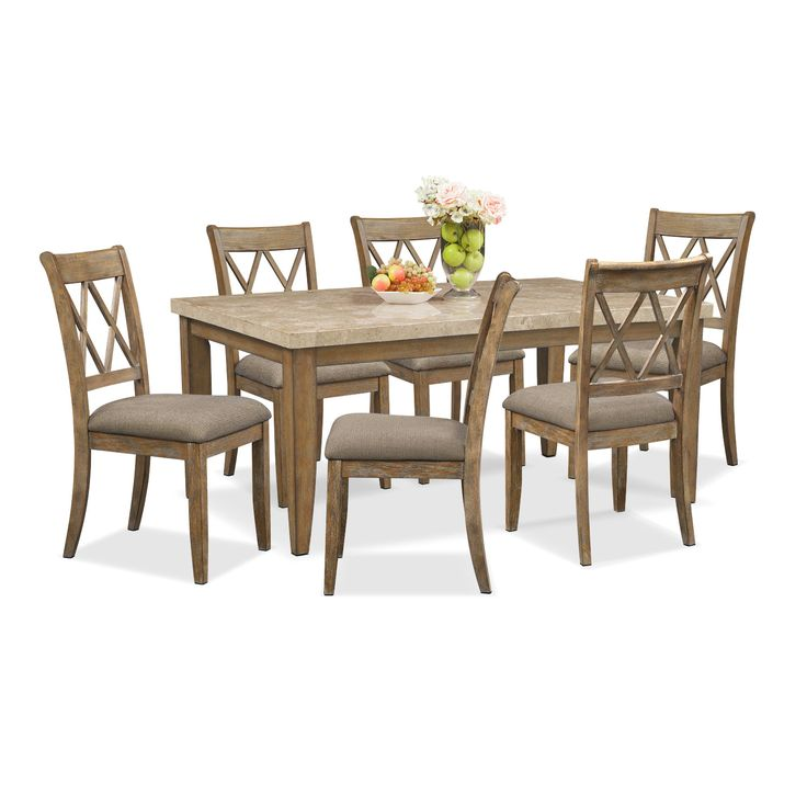 Definitely my next table 73 best Delightful Dining Rooms images on Pinterest   Dining room  . Gray Dining Sets. Home Design Ideas
