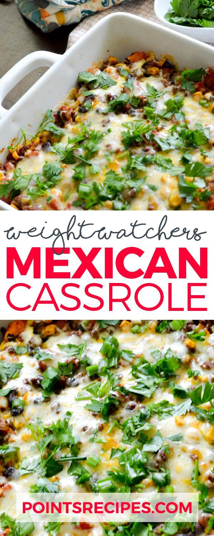 WEIGHT WATCHER'S MEXICAN CASSEROLE