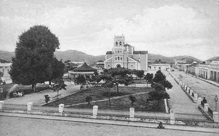 Plaza del Recreo,año 1910,Humacao,Puerto Rico.