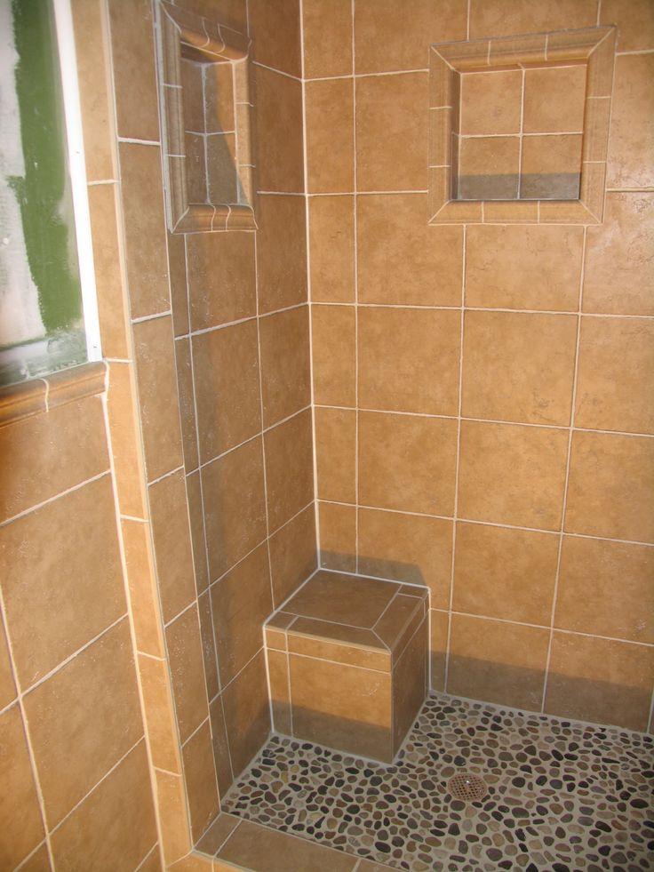 Tile Shower Bathroom Tile Pinterest
