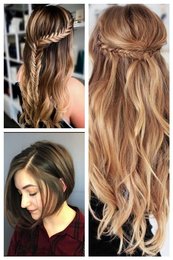 Cool Awesome Hairstyles Hairstyles Step By Step Boho Hairstyle Cute Hairstyle Curly Hairstyle Hairst Lockigefris Cool Hairstyles Hair Styles Curly Hair Styles
