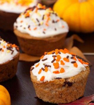 #Muffins à la #citrouille #Halloween