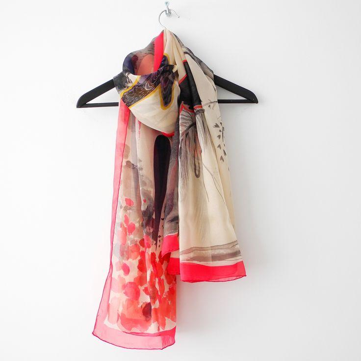100% zijde sjaals online kopen bij SjaalMania