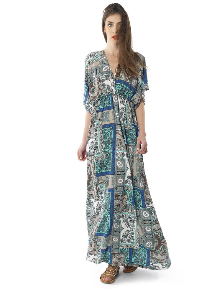 Regalinas maxi kaftan dress #ss15