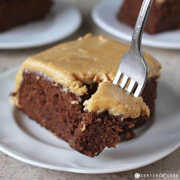 Peanut Butter Hot Fudge Cake Recipe — Dishmaps