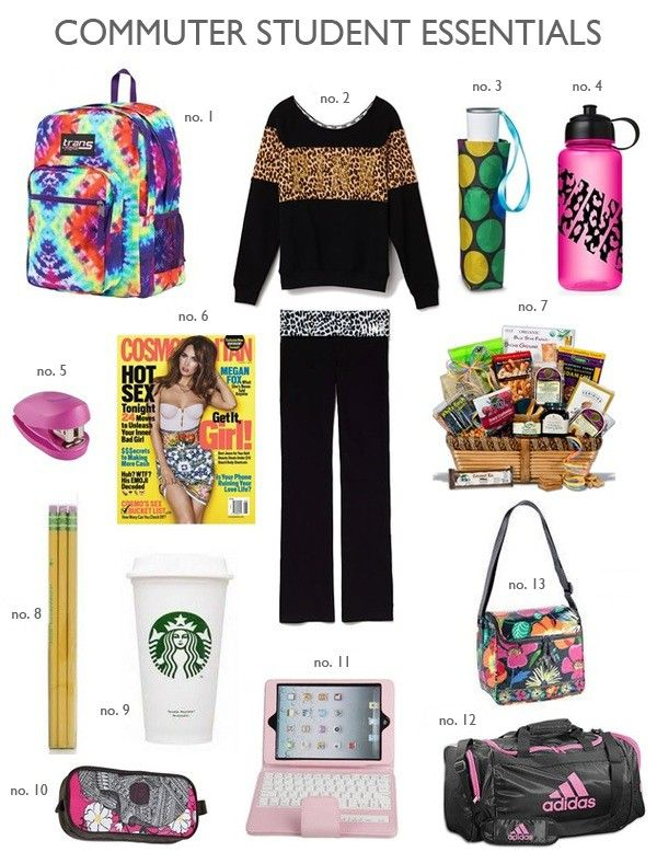 How To Pack For Your Daily College Commute | Lovelyish