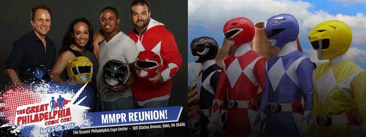 The Original Power Rangers Cast Reunites For The First Time Ever!