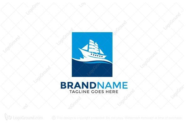 Logo for sale: Discoverer Ship  Logo