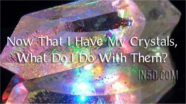 HOW DO I CHOOSE A CRYSTAL There will be times when you need to purchase a crystal, and given the great abundance of healing stones now available, it can be useful to have a system for choosing your…