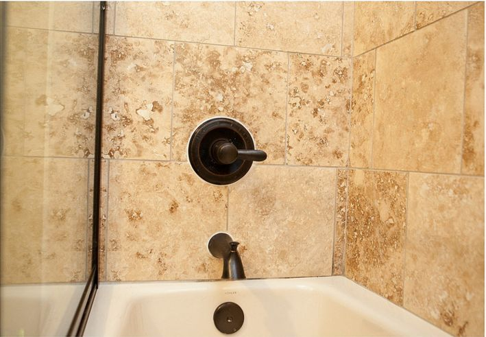 Custom Tile Work In A Tampa Bathroom. This Was Part Of A Remodeling Project  Which