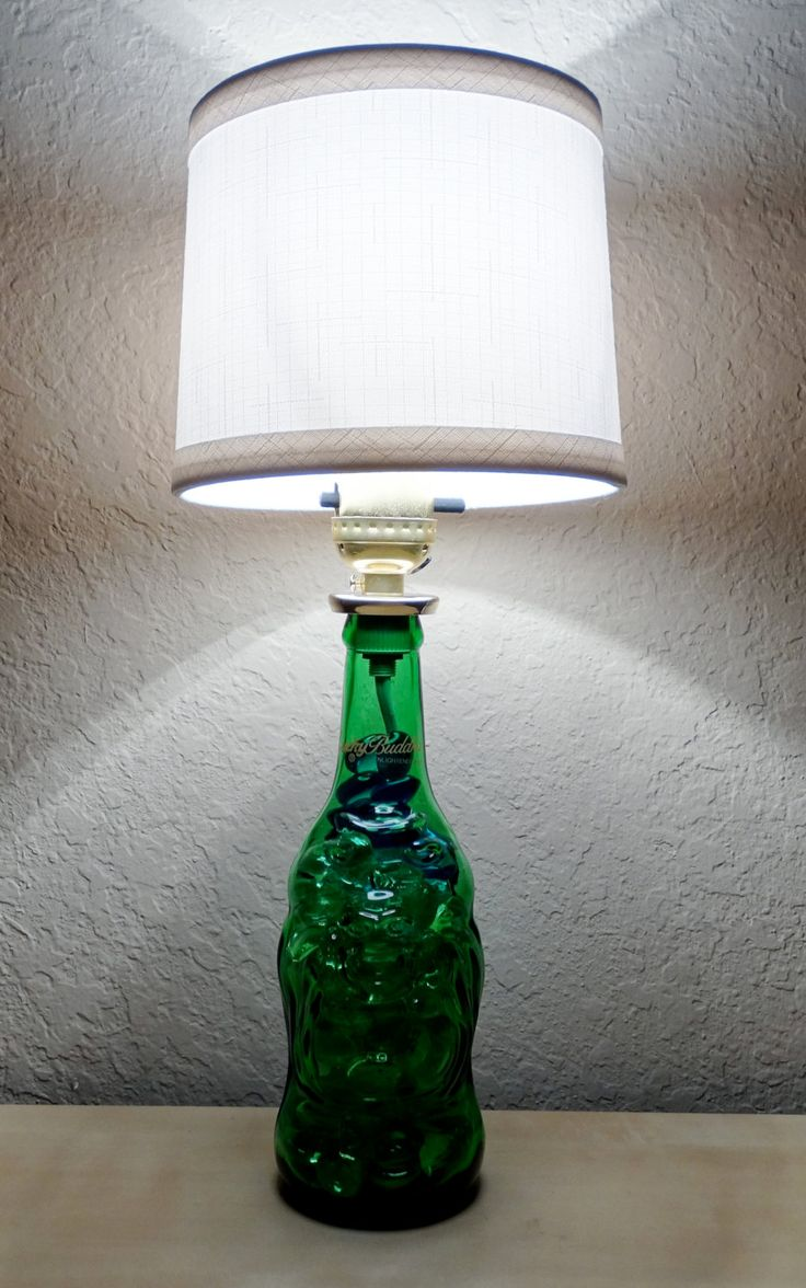 Lucky Buddha Beer Bottle Lamp by AJRevampD on Etsy