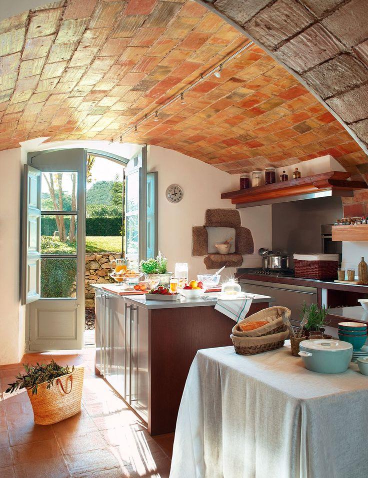 M s de 1000 ideas sobre cocinas de casa de campo inglesa - Cocinas para casas de campo ...