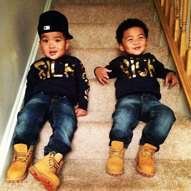 Love the little timberlands|Kids Fashion