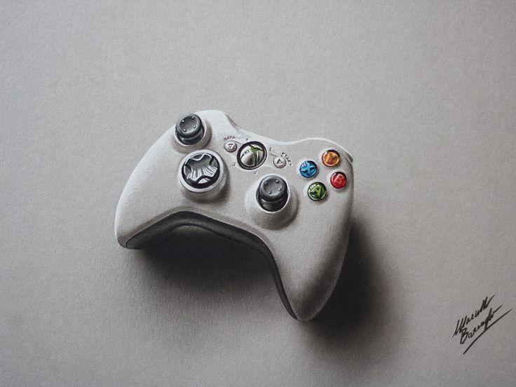 xbox 360 controller sketch - photo #20