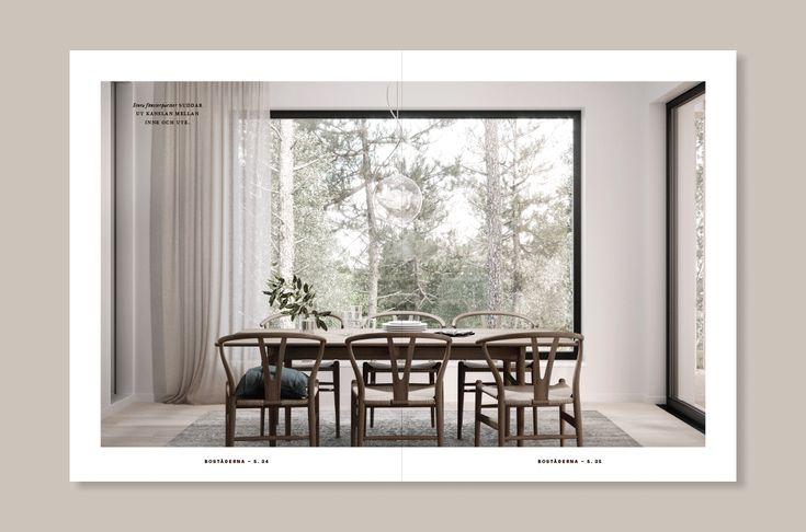 Visual identity by 25ah for residential property development Strömma Arkipelag