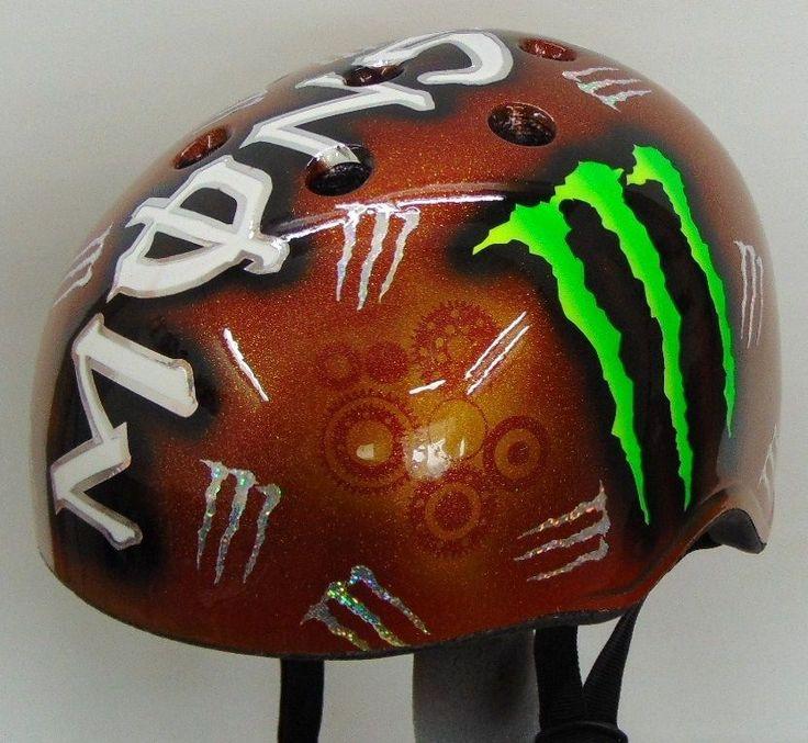 Monster Racing Bicycle BMX Snowboard MTB KALI Helmet - Μ -NEW -  #Kali